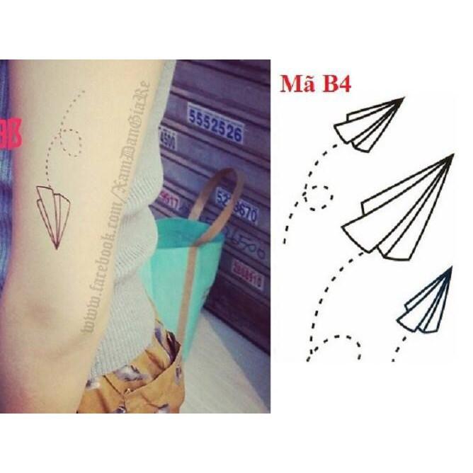 (M109) xăm dán  tatoo mã sản phẩm HU6017