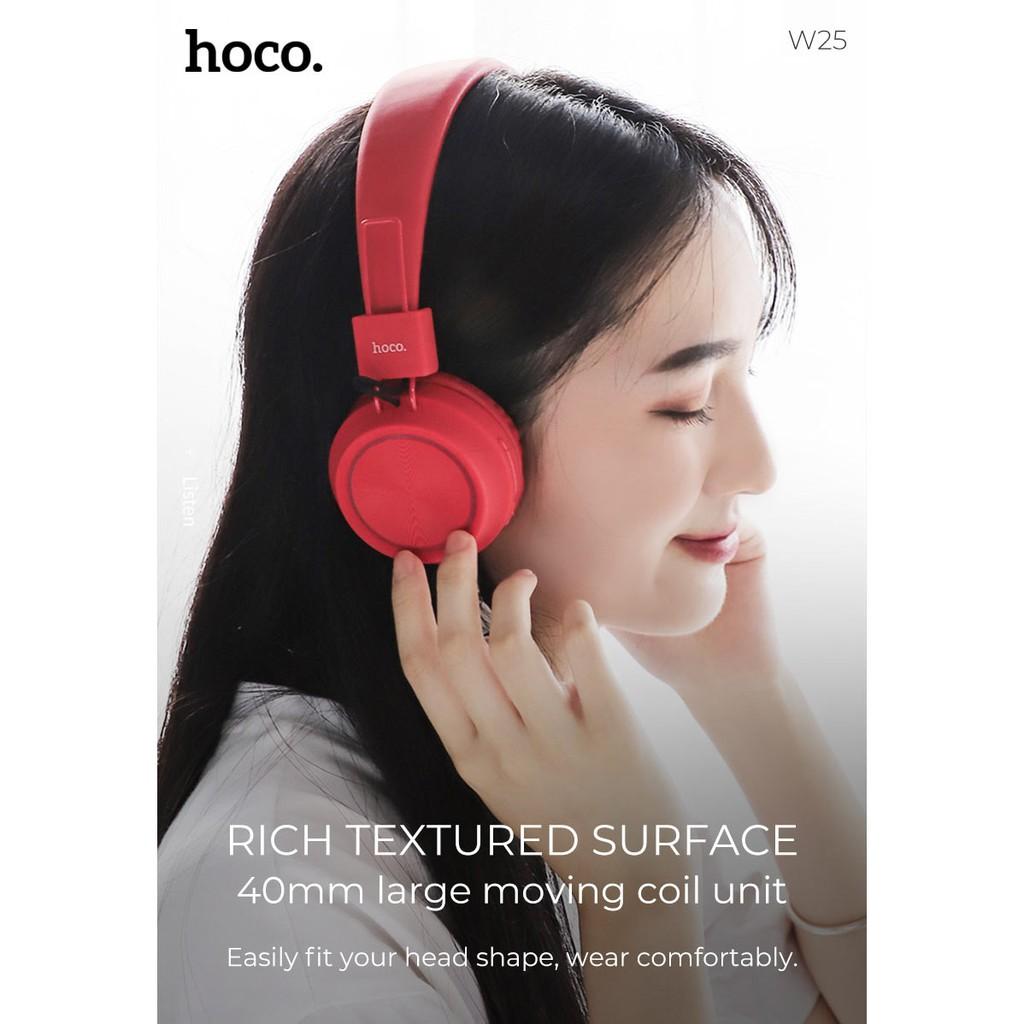 Tai nghe bluetooth chụp tai hoco w25 - tai nghe không dây chụp tai âm thanh chuẩn hoco w25 - vienthonghn
