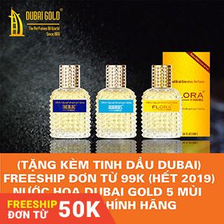 [Freeship 99k] Nước hoa Dubai nội địa 30ml tặng tinh dầu Dubai lăn 5ml số lượng có hạn