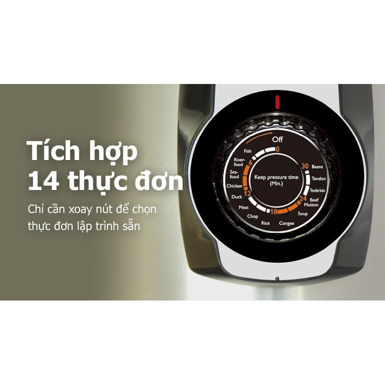 Nồi Áp Suất Điện Philips HD2103 (5L) - Hàng Chính Hãng