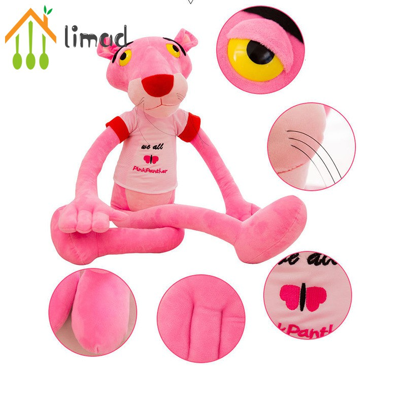 【COD】# limad Pink Panther Plush Toy Soft Stuffed Animal Doll for Kid Children Girl Women