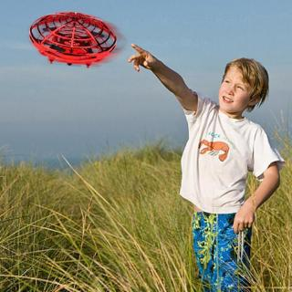Anti-collision Hand UFO Ball Flying RC Aircraft Toys Gift Led Suspension Mini Drone for Children