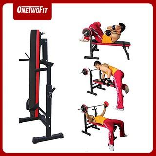 OneTwoFit Cử tạ Ghế tập ghế tập tạ đa năng ghế gập bụng ghê tập gym đa năng thiết bị thể OT040Z thumbnail