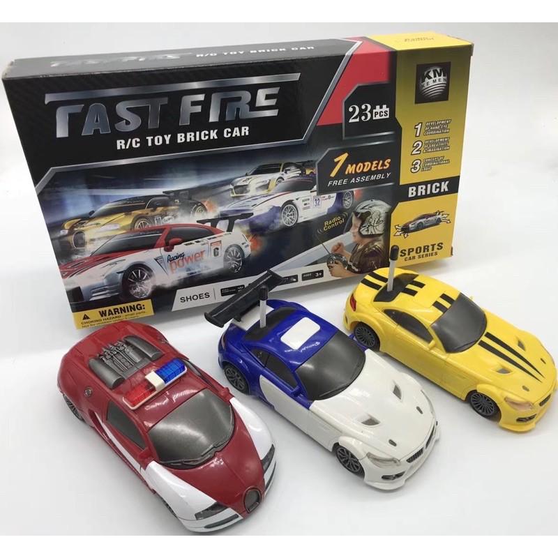 Xe đua điều khiển lắp ráp FastFire 4 kênh