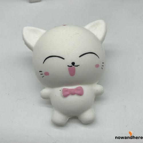 D.R-Lovely Squishy Kawaii Cat Stress Reliever Squeeze Healing Fun Kids Toy Gilf