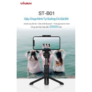 Gậy Chụp Hình Đa Năng Có Giá Đỡ VIVAN ST-B01 - BẢO HÀNH 1 ĐỔI 1 CHÍNH HÃNG thumbnail