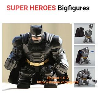 Lego Mô hình Batman Big figure Siêu Anh Hùng Decool