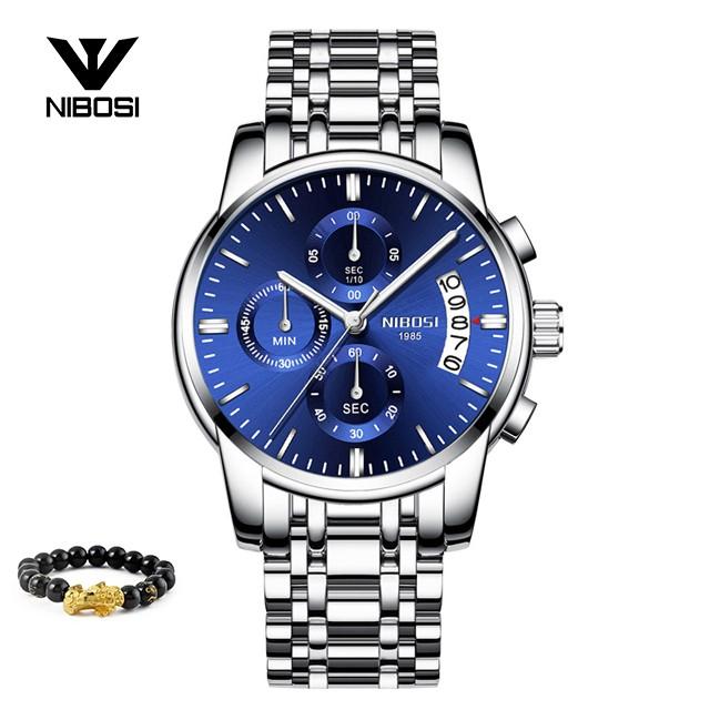[Tặng vòng tay]Đồng hồ nam NIBOSI chính hãng NI2353.12 thời trang lịch lãm