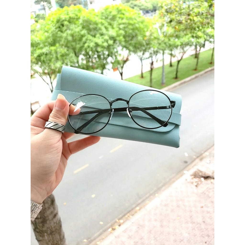 Gọng kính cận kim loại D12 giá tốt tặng kèm hộp kính 👓 Freeship Xtra 👓  (vthm9)