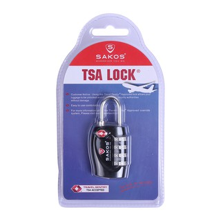 Ổ khóa vali du lịch TSA Sakos YLA008 thumbnail