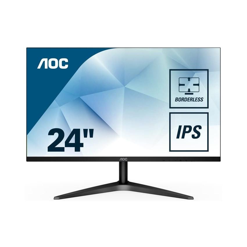 [Mã ELMIDNIGHT giảm 7% đơn 2TR] Màn hình AOC 24B1XHS/74 (23.8 inch/FHD/LED/IPS/60hz/7ms)