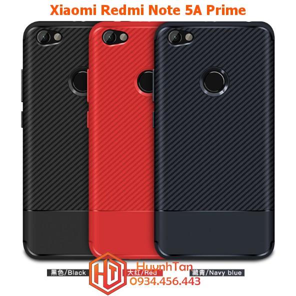 Xiaomi Redmi Note 5a Prime _ Ốp dẻo tpu vân chéo ver 2 thiết kế viền angten cực đẹp