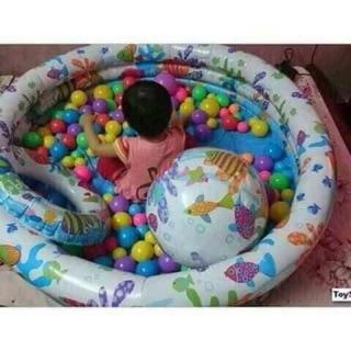 Bể bơi cho bé thoả thích mùa hè
