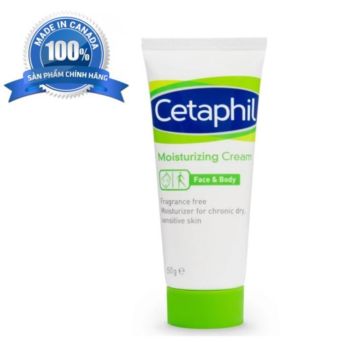 Kem dưỡng ẩm da mặt & toàn thân Cetaphil Moisturizing 50g