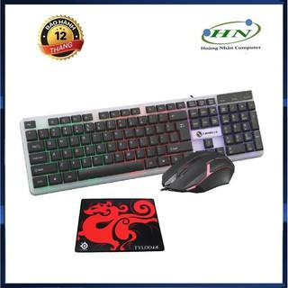 Bộ bàn phím và chuột LIMEIDE T11 G21B Game Led 7 màu + Tặng lót chuột thumbnail