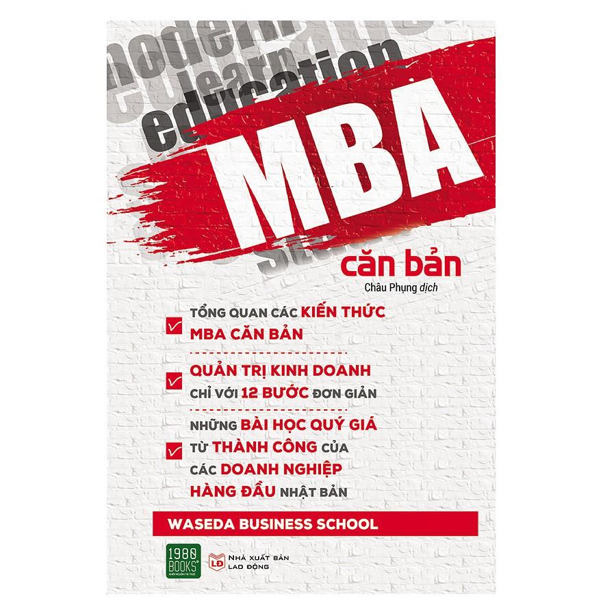 [ Sách ] MBA Căn Bản ( 1980 Books )