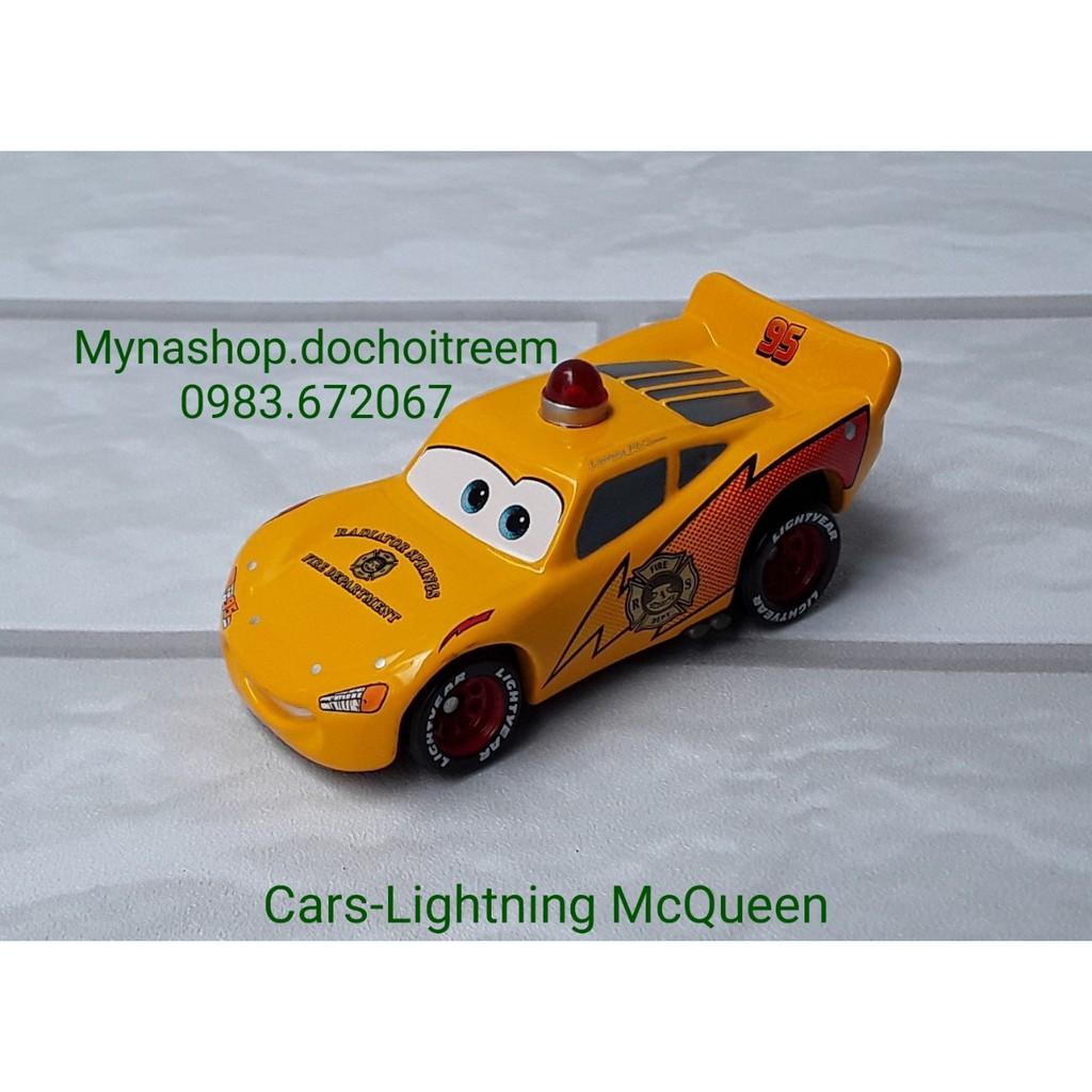 Xe mô hình tomica Cars disney - Cars-Lightning McQueen - xe c.sát.