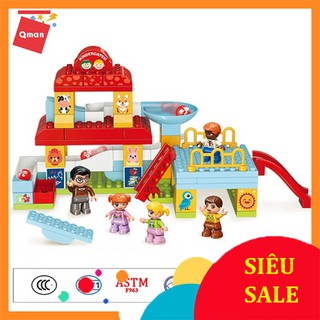Đồ Chơi Trẻ Em [QMAN 5104] Nhà Trẻ Vui Vẻ Happy kindergarten