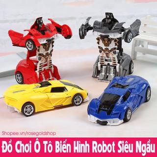 Đồ Chơi Ô Tô Biến Hình Robot Siêu Ngầu Cho Bé thumbnail