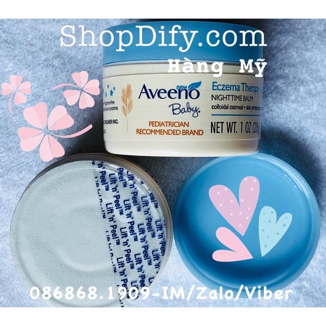 Kem Trị Chàm Aveeno Baby Eczema Therapy Date 07/2019 (hàng Mỹ)