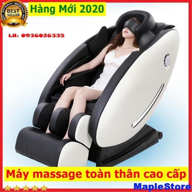 Ghế massage toàn thân đa năng khoang phi thuyền cao cấp, có massage 8D, tích hợp âm nhạc