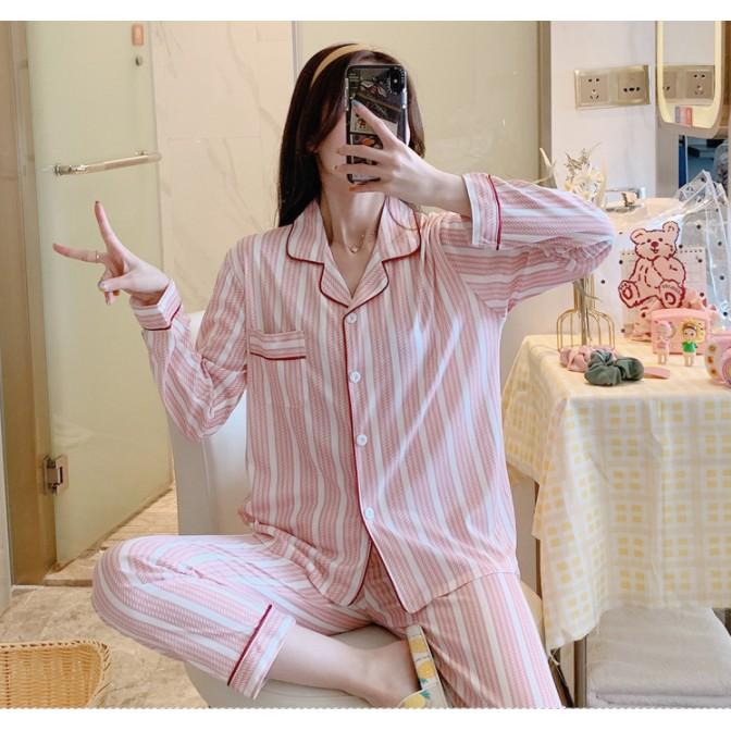 [Hàng Sẵn ] Bộ Pijama Dài Tay Thu Đông - Sợi Tơ Sữa Cao Cấp Mềm, Mịn - Nhiều Mẫu Quảng Châu Đa Dạng - Siêu Dễ Thương