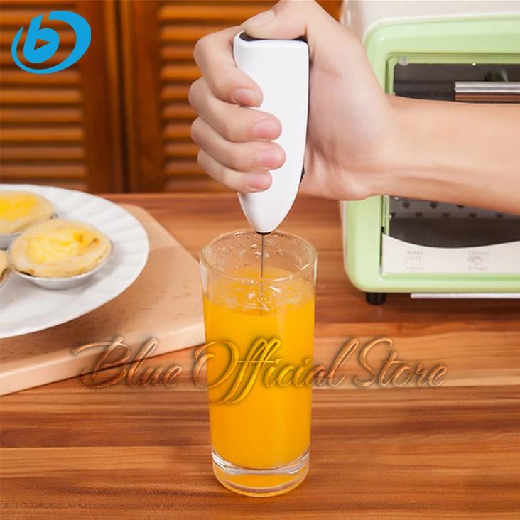 Máy Đánh Trứng 🥚 Máy Đánh Trứng Cầm Tay 🥚 Mini Cao Cấp Bằng Thép Không Gỉ - Hoạt Động Êm Ái ☕ Đồ Gia Dụng ☕ Tiện Ích