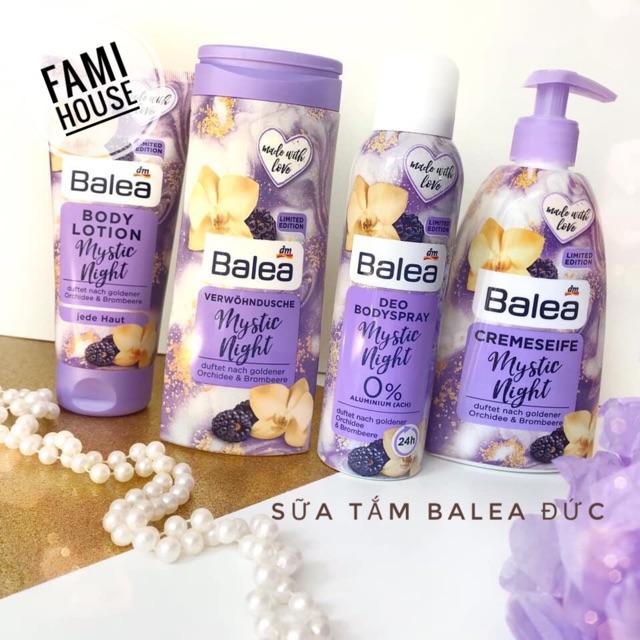 [Có bill] Sữa tắm Balea nội địa Đức 300ml
