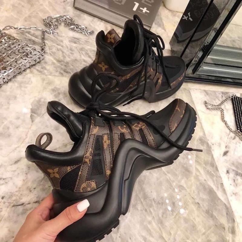 Giày Thể Thao Sneaker LV Nữ Full Box Bill