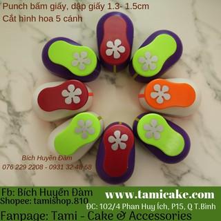 Punch Bấm Giấy, Dập Giấy Tạo Hình 1.3-1.5cm