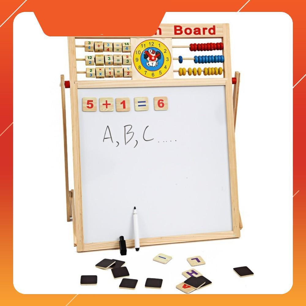 Bảng gỗ nam châm giáo dục 2 mặt cho bé viết vẽ, học số, học chữ cái - 14357157 , 2230311414 , 322_2230311414 , 192000 , Bang-go-nam-cham-giao-duc-2-mat-cho-be-viet-ve-hoc-so-hoc-chu-cai-322_2230311414 , shopee.vn , Bảng gỗ nam châm giáo dục 2 mặt cho bé viết vẽ, học số, học chữ cái