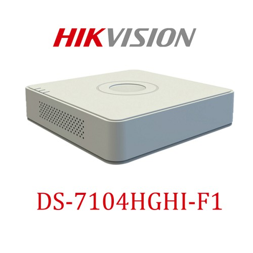 Đầu ghi hình Camera 4 kênh Hikvision DS-7104HGHI-F1 chính hãng