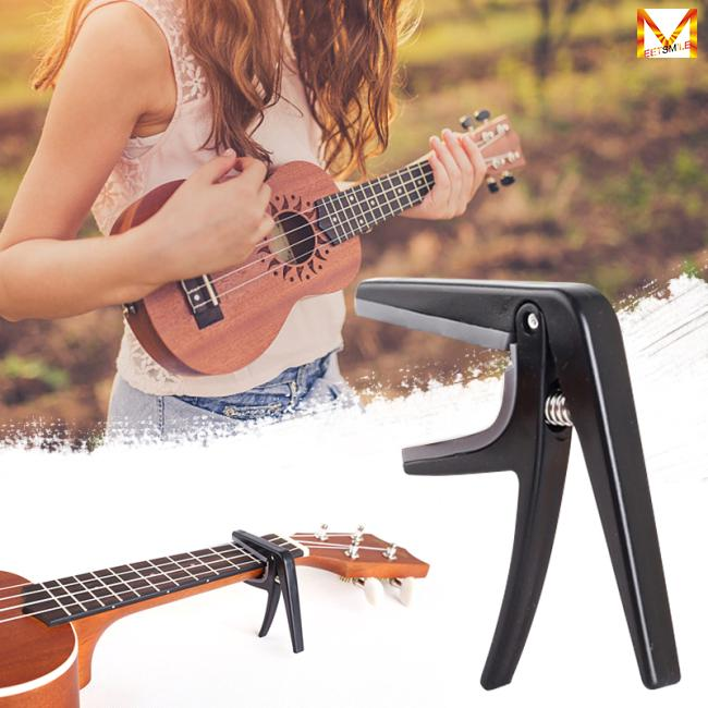 Professional Ukulele Capo Single-handed Quick Change Ukelele Capo Guitar Parts & Accessories