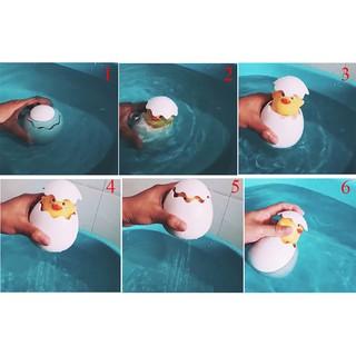 HEL❤ Spray duck sprinkling eggs baby water toys children's bathroom bath