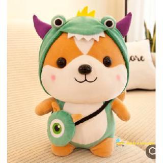 ☛☏❤Cute Squirrel Stuffed Doll in Cartoon Dinosaur Bee Reindeer Unicorn Hoodie Costume