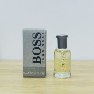 Nước hoa mini Nam HUGO BOSS Boss 5ml