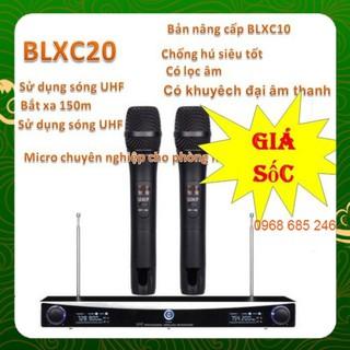 Micro không dây mic karaoke BLX C20 đa năng _ Nhật Việt official shure mini