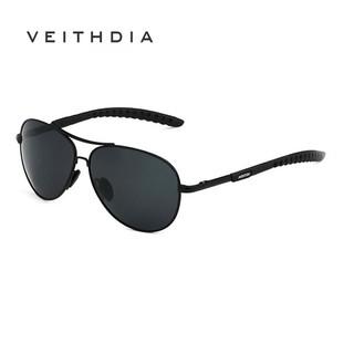 Kính mát VEITHDIA 3088 phân cực thời trang phong cách cổ điển cho nam khi lái xe
