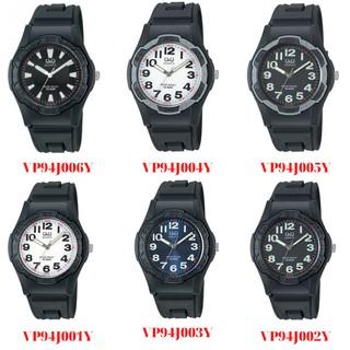 Đồng hồ nam thể thao Q&Q Citizen VP94J kim dạ quang dây nhựa thương hiệu Nhật Bản
