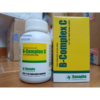 Vitamin B COMPLEX C Danapha – Vitamin For GYM – Lọ 100 viên