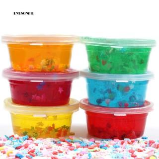 ♕60ml Fluffy Slime Putty Plasticine Clay Mud Sludge Stress Relief Kid Adults Toy