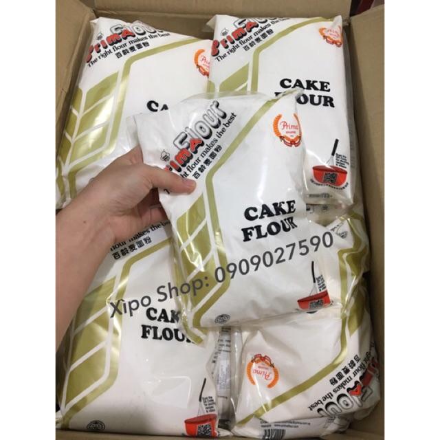 Bột Mì Không Tẩy Cake Flour (Số 8) Prima 1kg