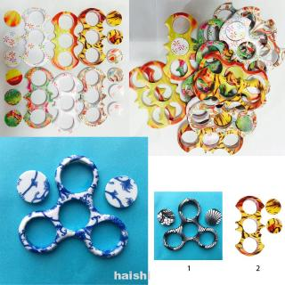 Random Color Protection Scratchproof Easy Install Replacement Accessories Toy Decoration Finger Gyro Shell