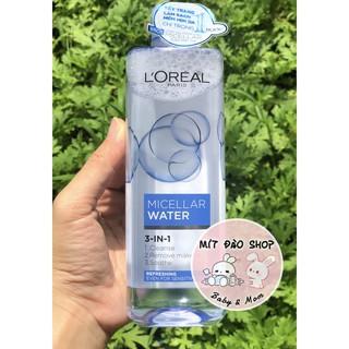 [Đủ màu] - Nước tẩy trang Loreal Paris 3-in-1 Micellar Water 400ml thumbnail