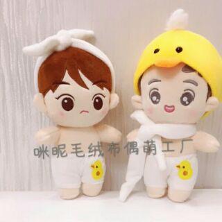 [Sale rẻ/ORDER ẢNH THẬT] Doll Exo Sehun và Chanyeol tặng kèm quà