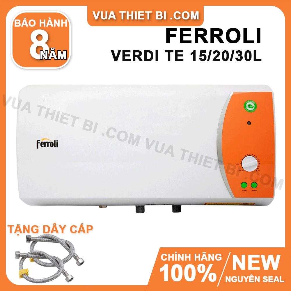 Ferroli Verdi TE 20 lít – Bình Nóng Lạnh Gián Tiếp – Verdi-20TE - Máy nước  nóng