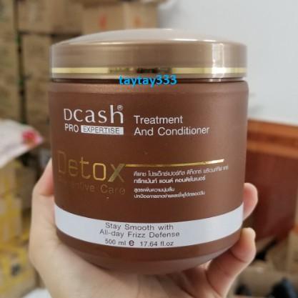 Kem ủ tóc Dcash Detox 500ml
