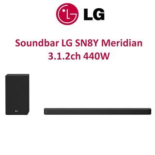 Loa thanh Soundbar LG 3.1.2 SN8Y 440W công nghệ Meridian Chính hãng thumbnail