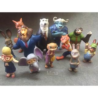Mô hình các nhân vật trong phim: THÀNH PHỐ ĐỘNG VẬT – Zootopia