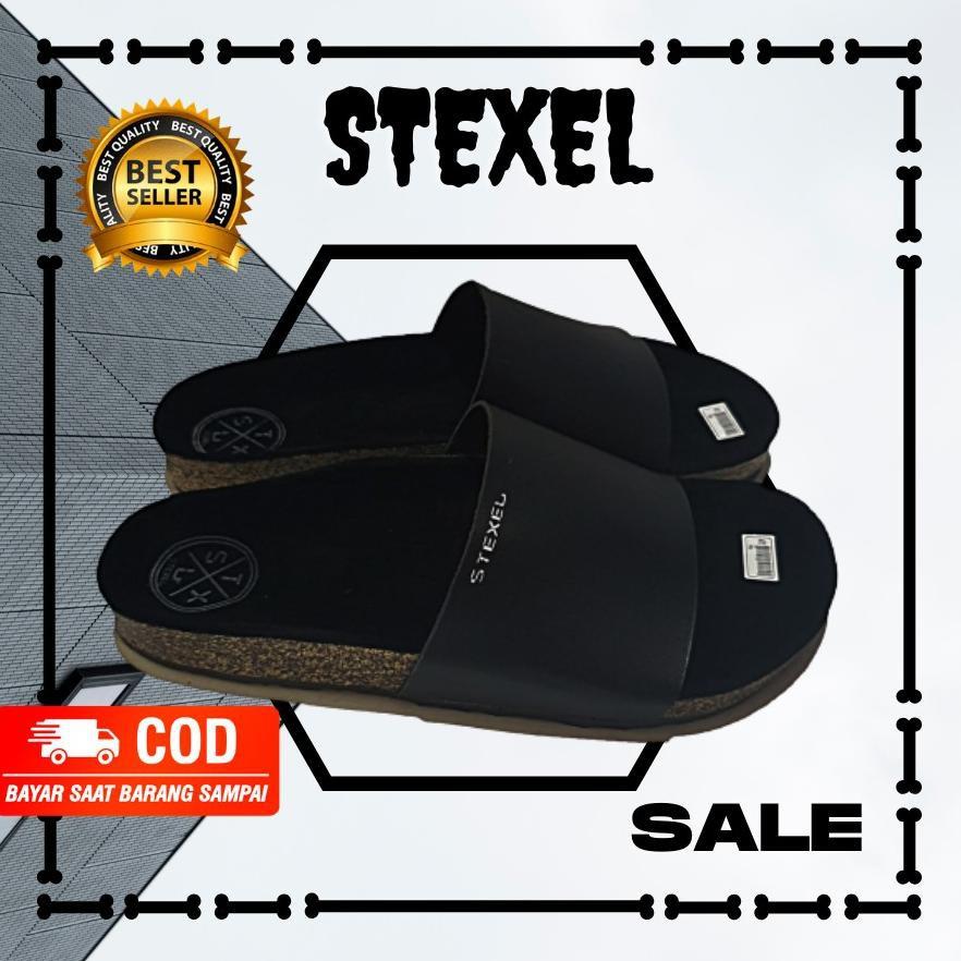 Giày Sandal Màu Đen Làm Thủ Công Thời Trang Cho Nam Nữ Mã 8223